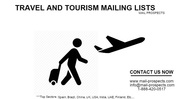 Travel & Tourism Industry Email Lists