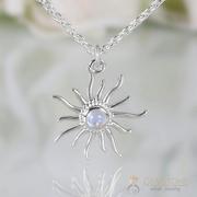 Moonstone Necklace - Marvelous Moonbeams