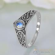 Moonstone Ring Gothic Affair