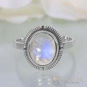 Moonstone Ring Sparkling Charisma